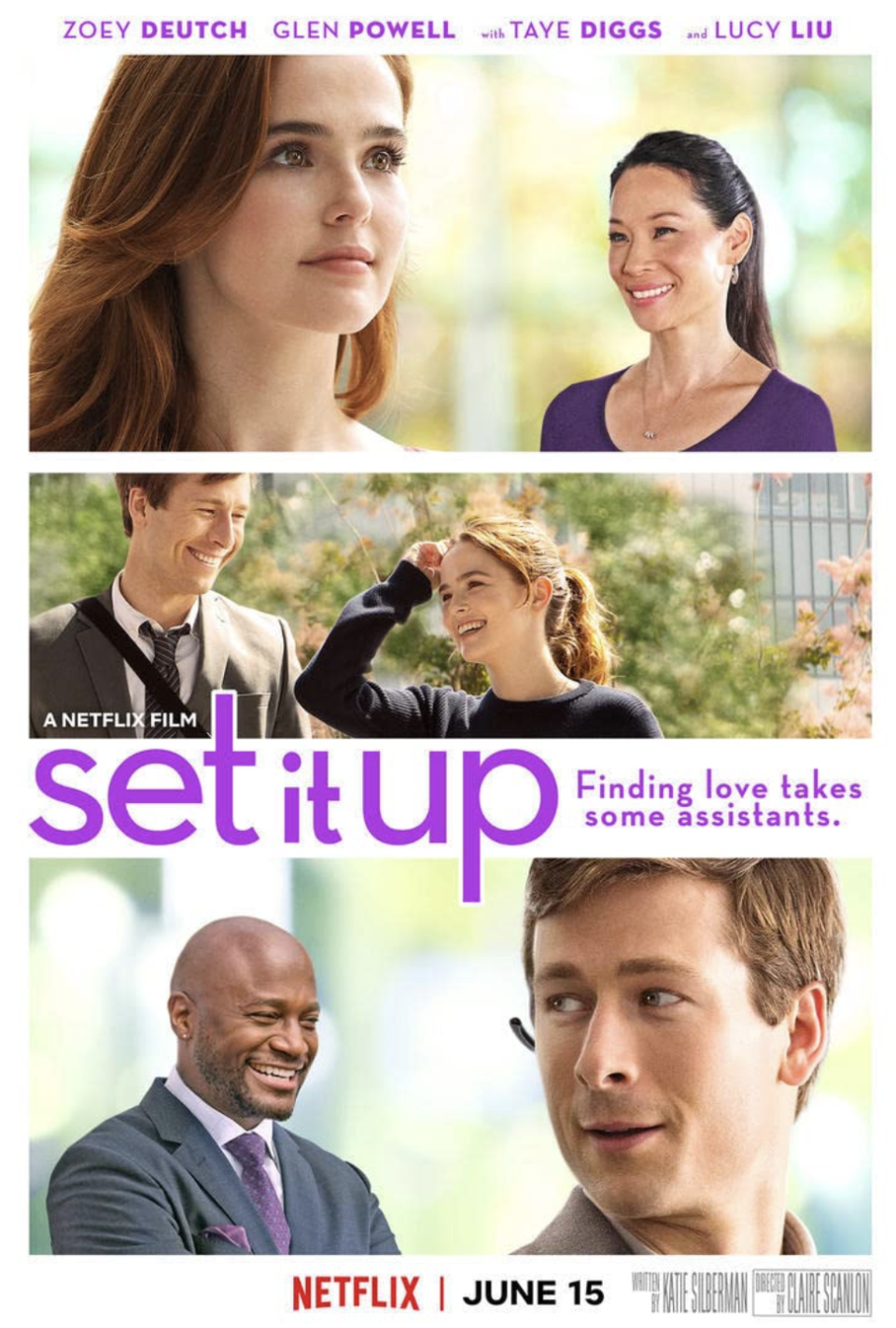 "<p>Two assistants decide to set their bosses up so that they won't always be at the office — but the real love connection is between the two matchmakers. </p><p><a class=""link rapid-noclick-resp"" href=""https://www.netflix.com/search?q=Set+It+Up&jbv=80184100"" rel=""nofollow noopener"" target=""_blank"" data-ylk=""slk:STREAM NOW"">STREAM NOW</a></p>"