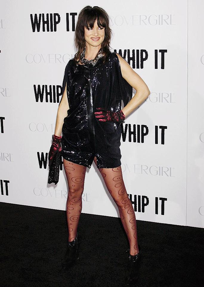 "Juliette Lewis looked a little ridiculous at the premiere of ""Whip It."" Then again, her outfits always do. Jeffrey Mayer/<a href=""http://www.wireimage.com"" target=""new"">WireImage.com</a> - September 29, 2009"