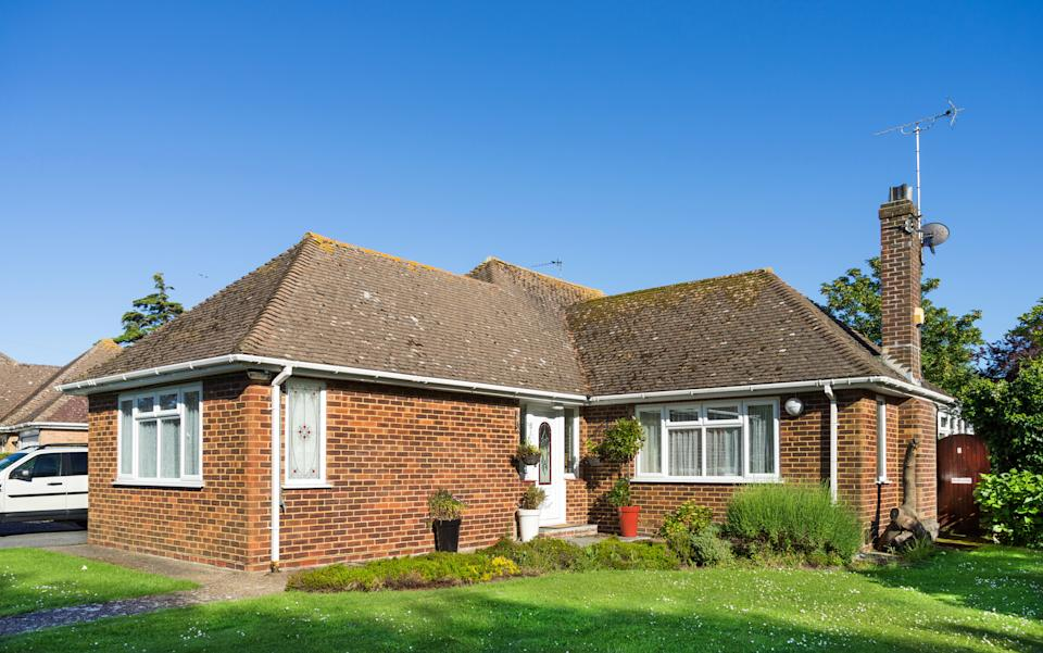 Nearly half (46%) of Brits said their dream home would be a detached property, with 16% preferring a bungalow, and one in 10 saying they would prefer a flat. Photo: Getty