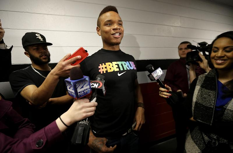 UMass basketball player announces he's gay