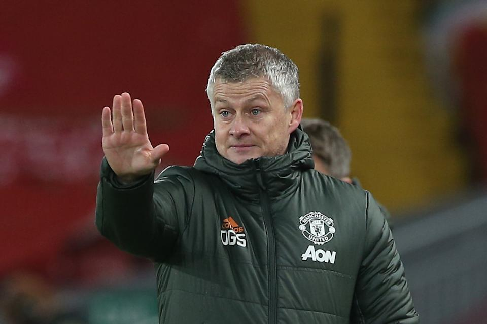 "<p>Solskjaer: ""We didn't impose ourselves on the game""</p> (Manchester United via Getty Imag)"