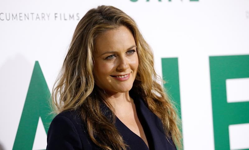 "Actor Alicia Silverstone poses at the premiere for the documentary ""Jane"" in Los Angeles, California, U.S., October 9, 2017. REUTERS/Mario Anzuoni"