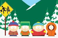 <p><strong><em>South Park</em><br></strong><br>Set in South Park, Colorado, this animated series has been killing Kenny and pushing buttons for over 20 years. </p>