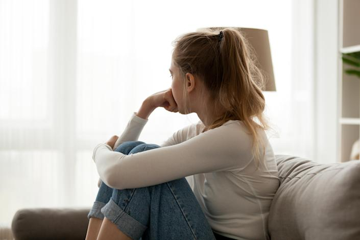 The coronavirus pandemic is taking a toll on people's mental health. (Getty Images)
