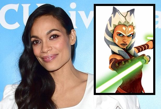 Rosario Dawson Joins Star Wars: The Mandalorian Season 2 as Ahsoka Tano