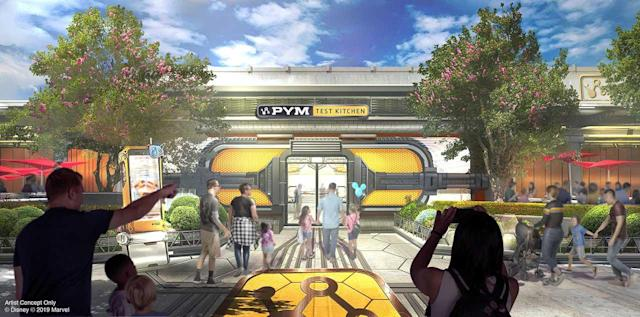 Visit the Pym Test Kitchen when you stop by Avengers Campus this summer (Photo: Disneyland Resorts)