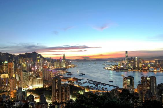 The breathtaking Hong Kong skyline is worth a trip alone