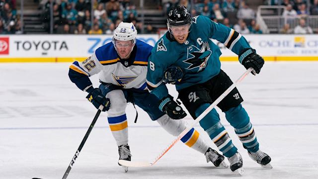 The Sharks were favored in their first two series of the 2019 NHL Stanley Cup playoffs. They will not be for the third.