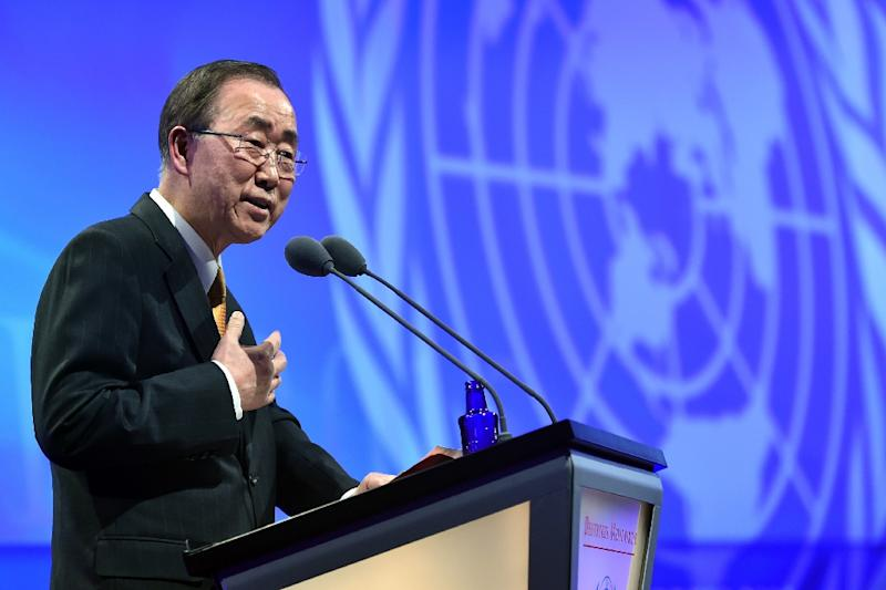 Earlier in March the UN and its Secretary-General Ban Ki-moon released a report showing a hike in the number of allegations of sexual abuse and exploitation by peacekeepers, from 52 in 2014 to 69 last year (AFP Photo/Uwe Anspach)