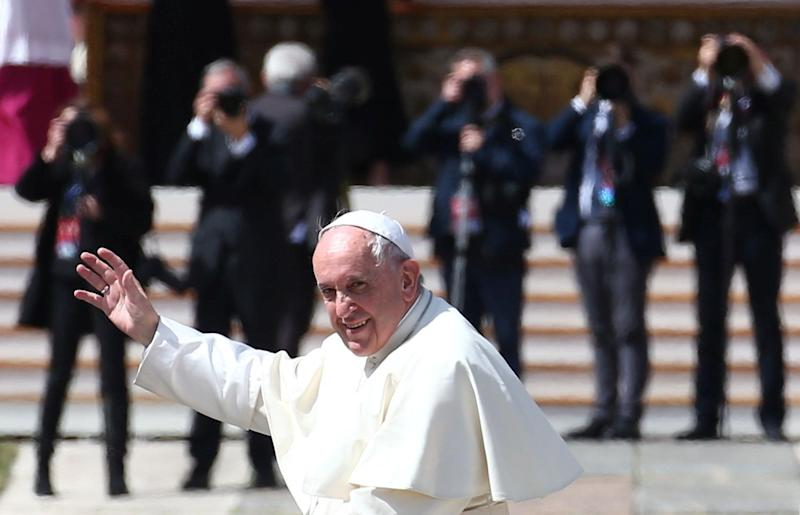 "Pope Francis released his third apostolic exhortation, titled ""Gaudete et Exsultate,"" on Monday."