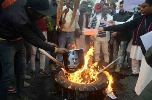 Protests have flared up across India against a citizenship law seen as discriminating against Muslims