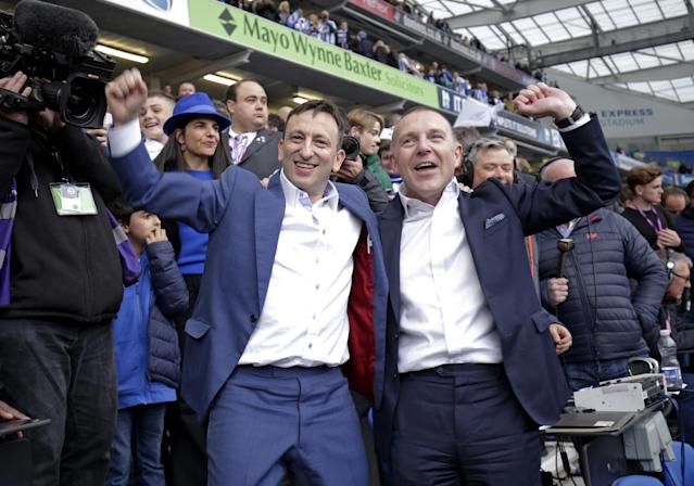 Tony Bloom and Paul Barber