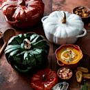 """<p><strong>Williams Sonoma</strong></p><p>williams-sonoma.com</p><p><strong>$199.95</strong></p><p><a href=""""https://go.redirectingat.com?id=74968X1596630&url=https%3A%2F%2Fwww.williams-sonoma.com%2Fproducts%2Fstaub-cast-iron-pumpkin-cocotte&sref=https%3A%2F%2Fwww.cosmopolitan.com%2Fstyle-beauty%2Ffashion%2Fg37233214%2Fgift-ideas-for-thanksgiving%2F"""" rel=""""nofollow noopener"""" target=""""_blank"""" data-ylk=""""slk:Shop Now"""" class=""""link rapid-noclick-resp"""">Shop Now</a></p><p>If you're wanting to really spoil someone, this Staub pumpkin cocotte is the ultimate Thanksgiving present. I mean, could a piece of cookware be any cuter than this?</p>"""