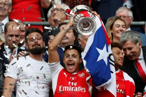 Third time lucky: Alexis Sanchez has already won the FA Cup twice with Arsenal