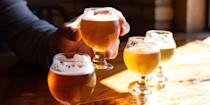 """<p>There's one thing that """"best IPA"""" lists too often do not consider: actually being able to find and enjoy the beers.</p><p>Look, not everyone has the ways or means to travel to a remote corner of Vermont to visit the hallowed grounds of The Alchemist or Hill Farmstead. Not everyone has the time or energy to wait in a serpentine beer-release line at Tired Hands or Bissell Brothers. Not every beer drinker has to be a beer <em>fanatic</em>.</p><p>And it is in this more measured approach to beer drinking that we created our list of the 12 best IPA beers.</p><p>It's not that we don't enjoy esoteric beers from small-town nano-breweries—it's just that it's hard to recommend them to a fellow beer drinker who is just looking to branch out a little. Nothing is more frustrating, we know, then hearing about a great beer and then realizing that the only way you could ever drink it is by having to travel and/or wait for a taste.</p><p>So, on this list you will not find Pliny the Elder, or any of its gotta-hunt-for-it ilk. You will also not find any session IPAs, fruited IPAs, or otherwise non-traditional IPAs, except for hazy IPAs, which have come to redefine the style.</p><p>What you will find is a list of dependably delicious IPAs that deliver on hops and are to be trusted in flavor no matter what the year (as long as you drink them fresh, of course).</p>"""