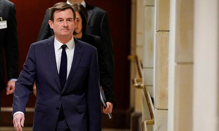 "<span class=""element-image__caption"">David Hale, the under secretary of state for political affairs.</span> <span class=""element-image__credit"">Photograph: Joshua Roberts/Reuters</span>"