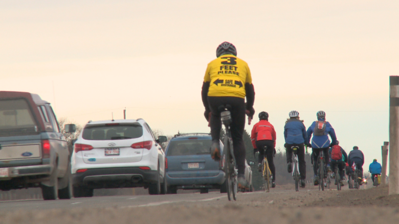 Foothills safety campaign asking cyclists and vehicles to share the road