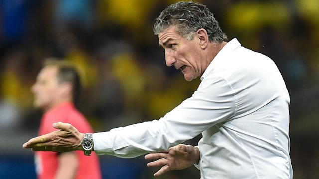 Edgardo Bauza was less than impressed by Lionel Messi's ban handed down by FIFA on the day of Argentina's qualifier in Bolivia.