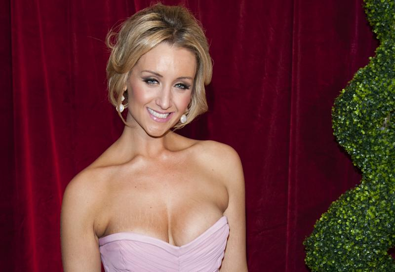 Catherine Tyldesley Arriving For The 2012 British Soap Awards At Itv London Studios, South Bank, London. (Photo by Mark Cuthbert/UK Press via Getty Images)