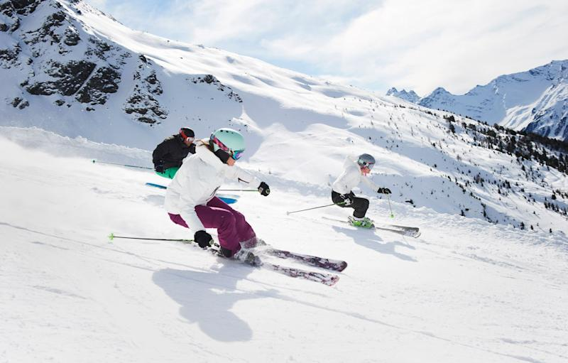 There are lots of decisions to make when choosing a resort for your first ski holiday - This content is subject to copyright.