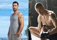 """<p>'Lost' star Fox stripped over 3 stone in body fat to play an insanely ripped former Special Forces psycho. """"I was only eating chicken breasts, steamed broccoli and protein shakes made with water,"""" he said, """"That was brutal.""""</p>"""