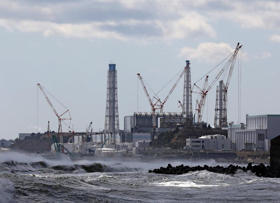 Japan's Fukushima nuclear power plant was hit by a massive tsunami in 2011 (JIJI PRESS/AFP via Getty Images)