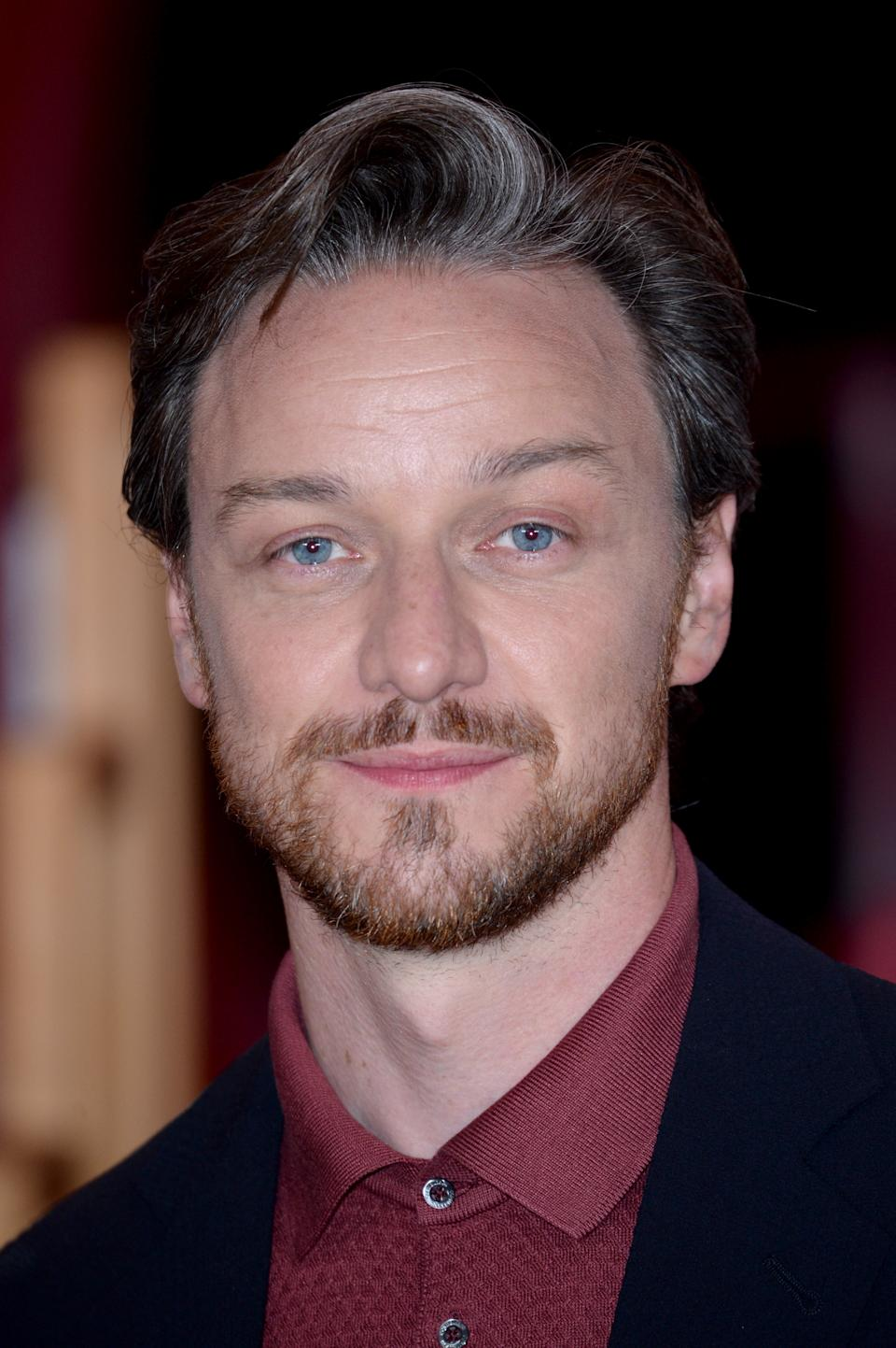 LONDON, ENGLAND - SEPTEMBER 02: James McAvoy attends the