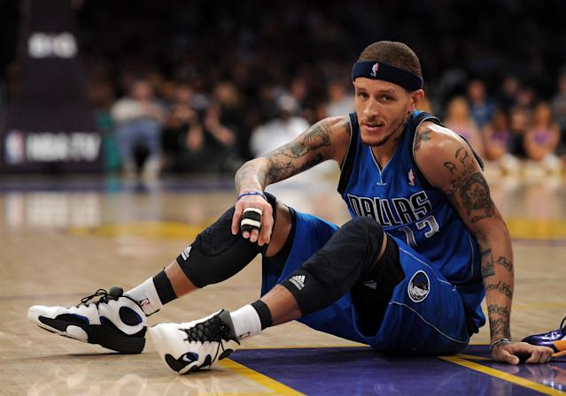 Disturbing videos circulated showing former NBA player Delonte West on Monday, leading to a Maryland police officer being suspended. (Harry How/Getty Images)