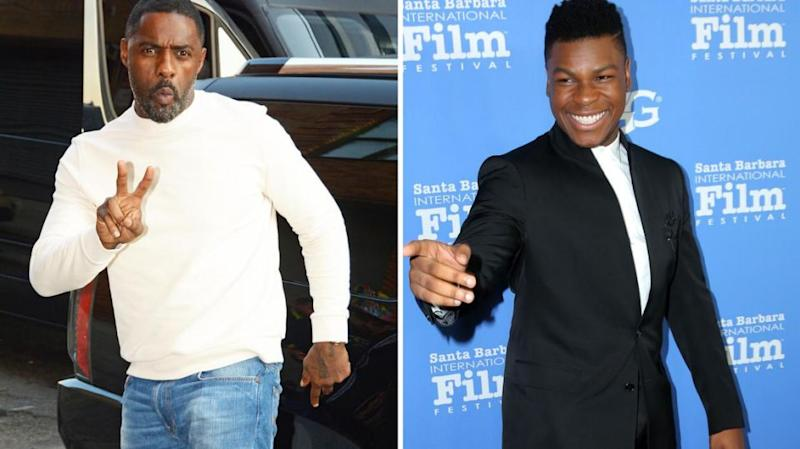 He suggested Idris could be James Bond and he could play James Bond Jr. Source: Getty