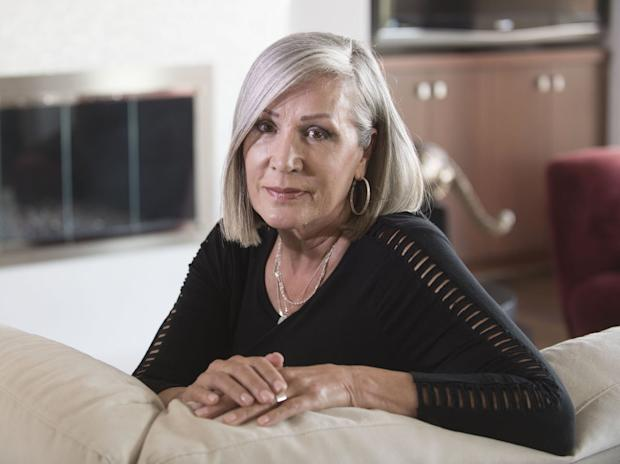 It's been 15 years since Barbara Van Rooyan lost her son, Patrick Stewart, to a single OxyContin pill. Van Rooyan has since channeled her grief into intense research about Oxy's vast potential for damage and has become one of the trailblazers of the anti-OxyContin movement. (Ana Venegas for KHN)