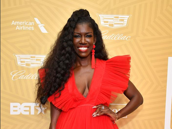 Bozoma Saint John attends the American Black Film Festival Honors Awards Ceremony at The Beverly Hilton Hotel on February 23, 2020 in Beverly Hills, California.