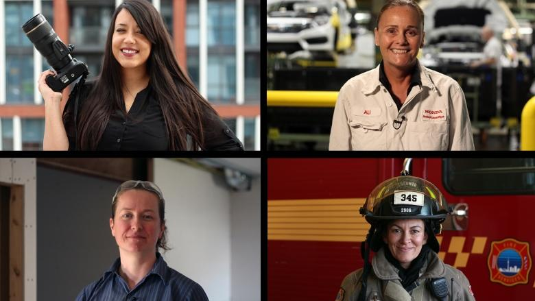 4 women discuss challenges they've faced in their work fields