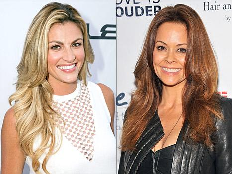 "Erin Andrews Wants to Be Like Brooke Burke-Charvet on DWTS, Is ""Always"" Rooting for Maksim Chmerkovskiy"