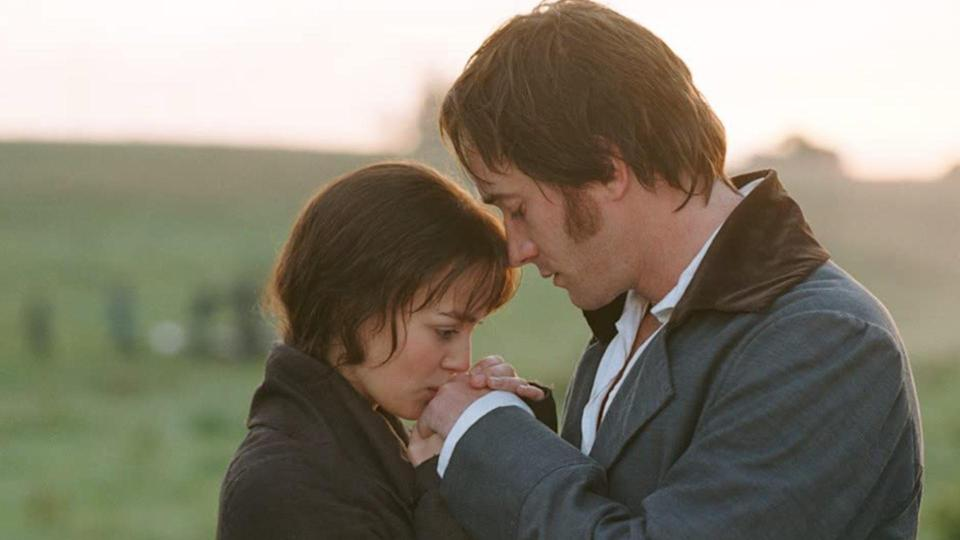 <p> Hear us out:&#xA0;Pride &amp; Prejudice&#xA0;is a Christmas film. Why? Because period dramas just feel inherently Christmassy. Keira Knightley and Matthew Macfadyen are Elizabeth and Darcy in Joe Wright&#x2019;s 2005 adaptation of Jane Austen&#x2019;s iconic novel. If you&#x2019;re unfamiliar with the plot, Elizabeth and Darcy are one of the OG romcom pairs; an 18th-century Harry and Sally. Come for the beautiful costumes and set design, stay for the chaste sexual tension and emotional repression that makes the climactic pay-off so damn satisfying. </p>