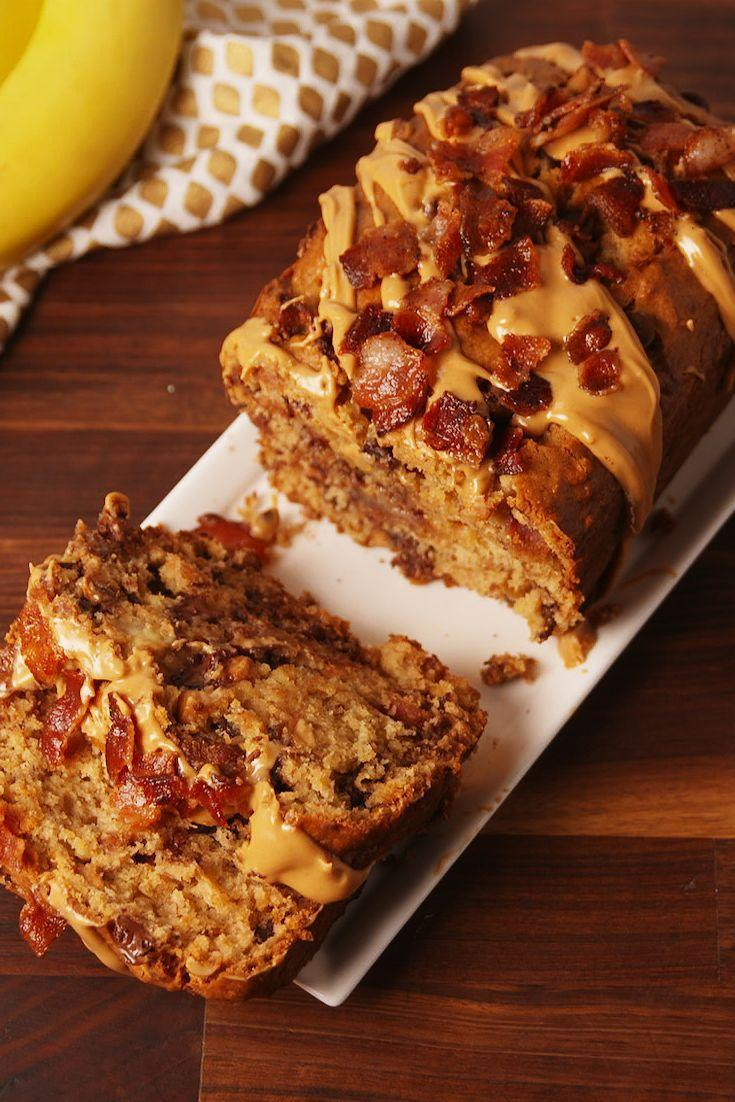 """<p>The king knew where it was at.</p><p>Get the recipe from <a href=""""/cooking/recipe-ideas/recipes/a54149/elvis-banana-bread-recipe/"""" data-ylk=""""slk:Delish"""" class=""""link rapid-noclick-resp"""">Delish</a>.</p>"""