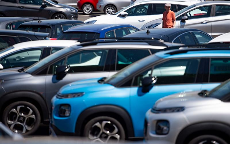 There are plenty of new cars in the system, stored at disused airfields throughout the UK and at dealers, but these will soon be gone and replacements will be slow to arrive - Jacob King/PA