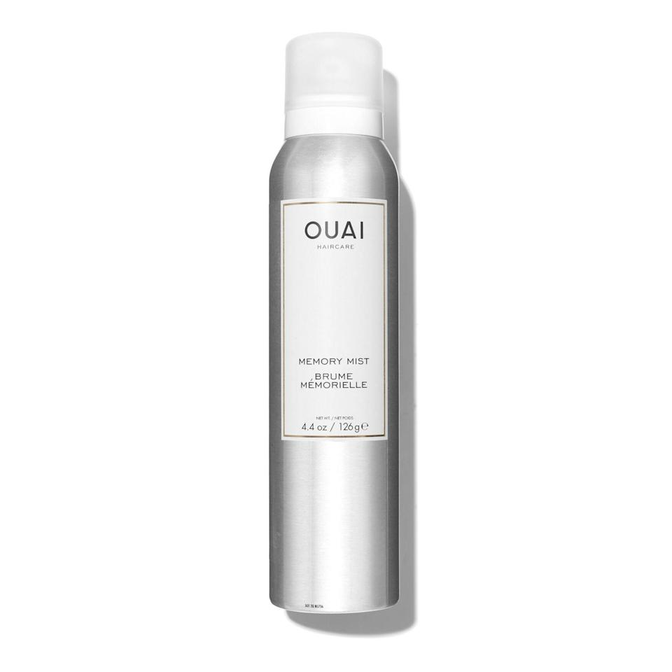 """<p>Ouai's Heat Protection Spray not only safeguards your hair from heat damage, it adds shine and subtle volume, too. It contains a blend of prickly pear extract, jojoba oil, glycerin, and castor oil — all of which nourish the hair and help further protect it from the elements.</p> <p><strong>$28</strong> (<a href=""""https://shop-links.co/1709673492852824109"""" rel=""""nofollow noopener"""" target=""""_blank"""" data-ylk=""""slk:Shop Now"""" class=""""link rapid-noclick-resp"""">Shop Now</a>)</p>"""