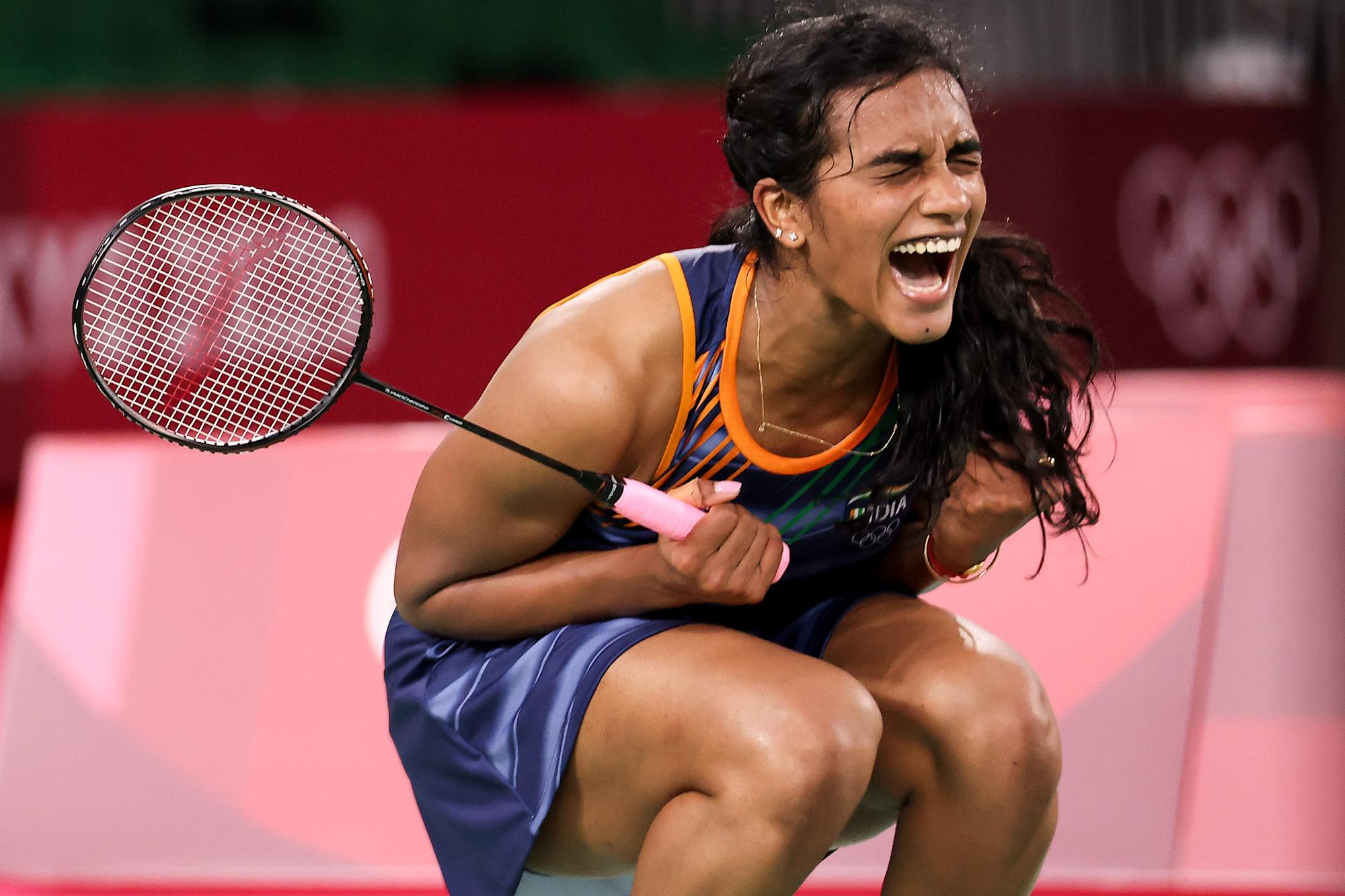 WATCH: Sindhu roars into Tokyo Olympics semi-final after thrilling win over World No.5