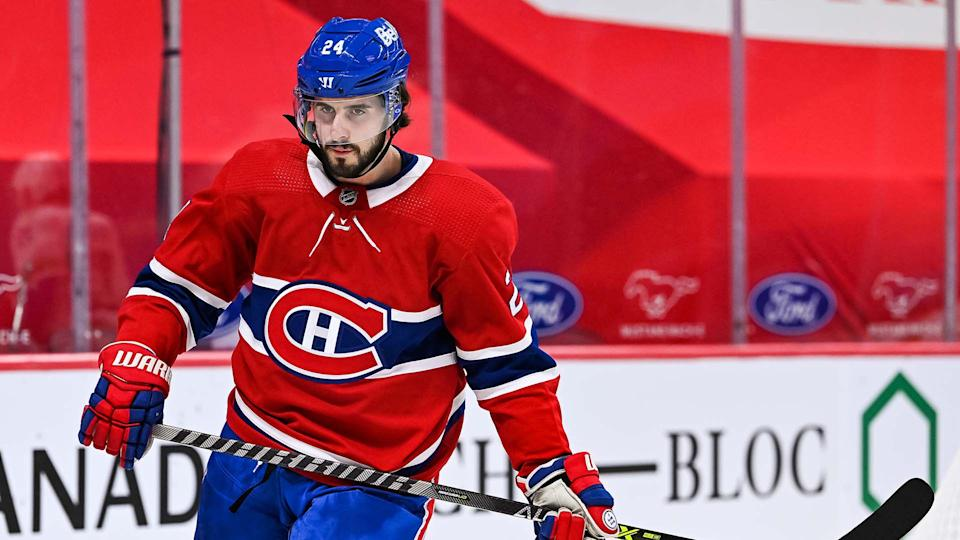 Phillip Danault is still looking for his first goal of the season. (Photo by David Kirouac/Icon Sportswire via Getty Images)