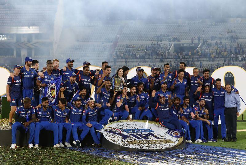 Mumbai Indians won the IPL for the fourth time last year