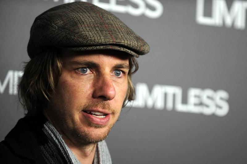 US actor, writer, director and producer Dax Shepard