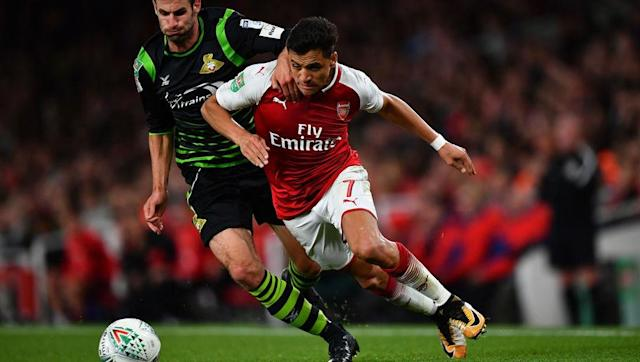 <p>Arsenal have gone three games without scoring so far this season and so much focus will be on star player Alexis Sanchez and whether or not he can recapture his fine form from last season.</p> <p><br> Sanchez is one of few players in the league who can change a game by themselves and his 24 goals last season saved the Gunners from even more embarrassment, but he hit double figures for assists and is very much the heart of Arsenal's attack.</p> <p><br> Jonny Evans will be playing left centre-back and so will come up against the Chilean forward directly.</p> <p><br> Evans is widely seen as one of the most underrated defenders of the last few years and was chased by major clubs such as Man City over the summer. If the Northern Ireland international can keep Sanchez quiet, then Arsenal's indifferent start to the season may continue. </p>