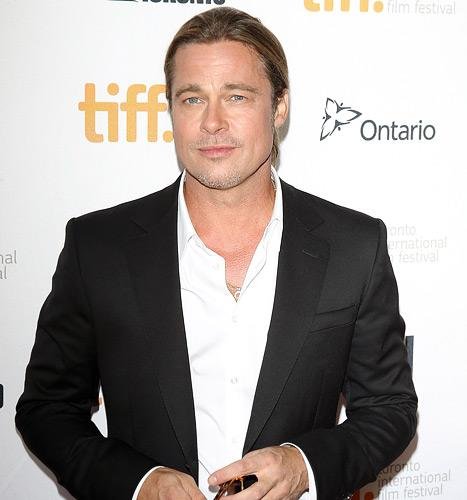 """Brad Pitt on 12 Years a Slave: """"If I Never Get to Participate in a Film Again, This Is it for Me"""""""
