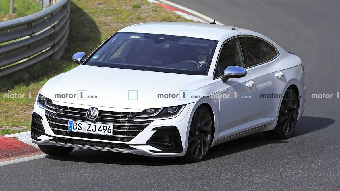 2021 Vw Tiguan R And Arteon R Spied Sharing The Nurburgring