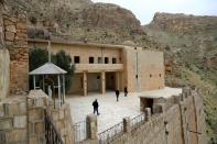A view of Rabban Hormizd Monastery is seen in Alqosh