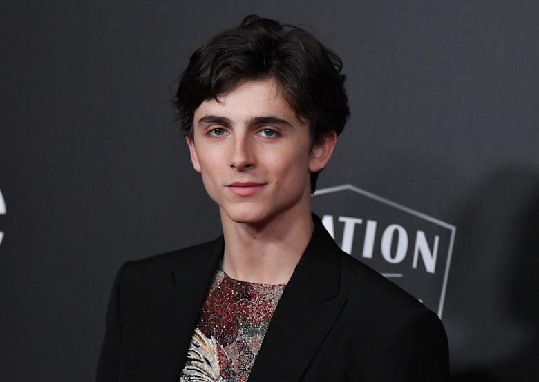 7170b6e28 Timothée Chalamet isn't one to hide his love of Christopher Nolan. While  accepting the Best Actor prize from the New York Film Critics Circle in  2017, ...