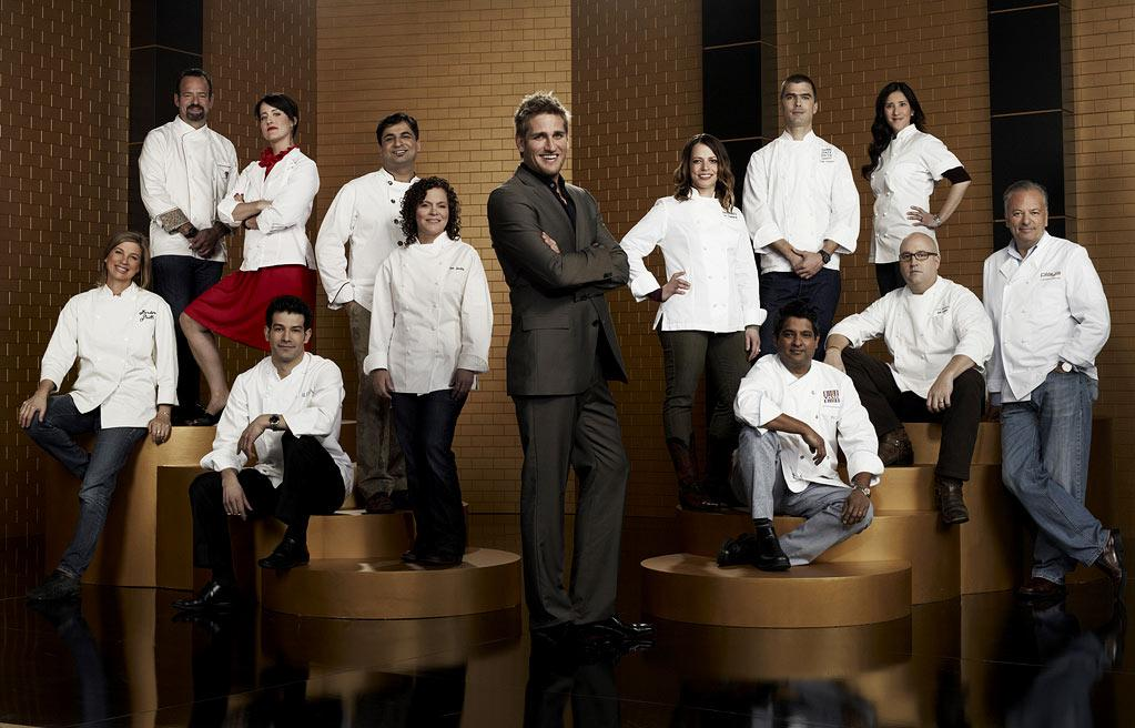 "The cast of ""Top Chef Masters."""