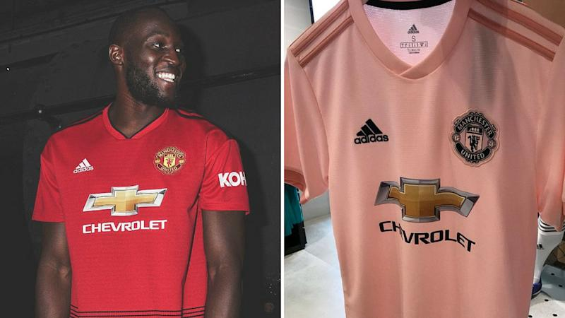 promo code f904a 59884 Manchester United's new pink shirt revealed