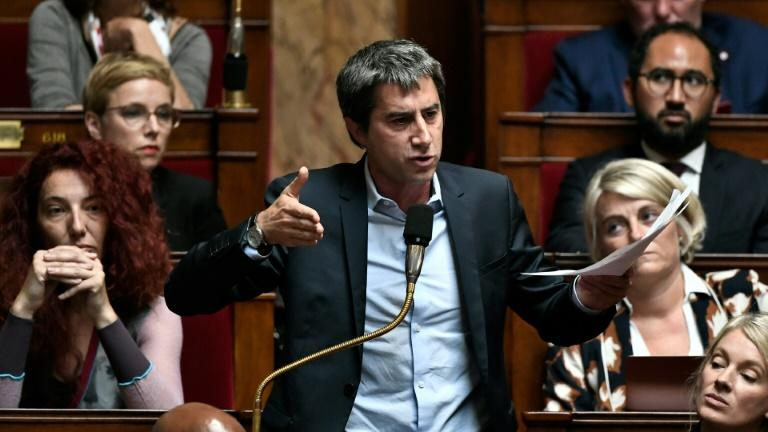 François Ruffin à l'Assemblée nationale le 1er octobre 2019, à Paris