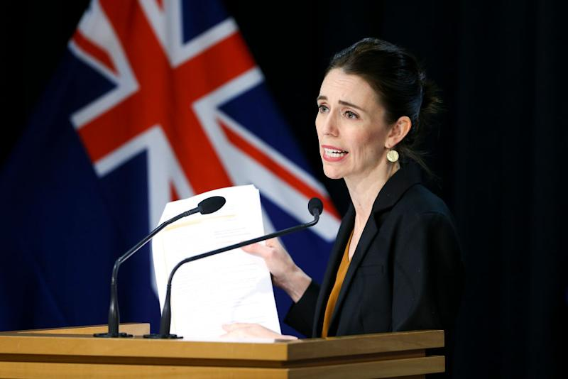 Jacinda Ardern called New Zealand's latest restrictions 'level 2.5'. Source: Getty